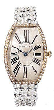 Cartier Tonneau wristwatch, Paris 1907. Cartier lead the way with luxury ...