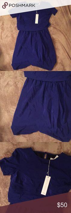 6d86e7f2c267 Amanda uprichard blue silk dress small nwt Amanda uprichard blue silk dress  small nwt Loc