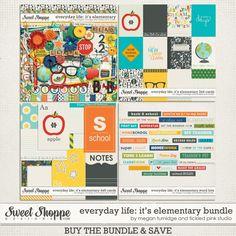 Everyday Life: It's Elementary Bundle by Megan Turnidge & Tickled Pink Studio