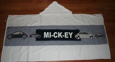 badcape voor Mickey