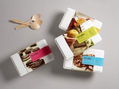 25 Refreshing Ice CreamPackages - The Dieline - Briolla Ice Cream