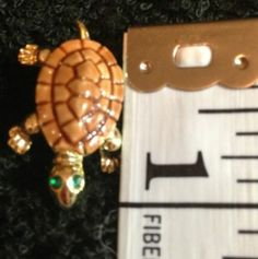 Turtle Pin Brooch Great Gift for A Turtle Collector | eBay