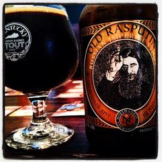 Old Rasputin by North Coast Brewing Company: Russian Imperial Stout
