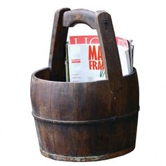 old water bucket