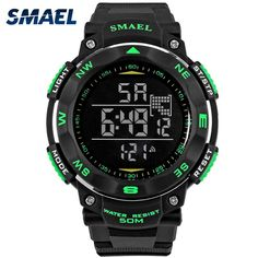 Watches Boy Girls Sports Watches Waterproof Outdoor Fun Multifunction Digital Watch Swimming Running Led Wristwatch Montre Homme