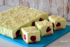 Sprawdź to, zjedz to! Polish Desserts, Polish Recipes, Polish Food, Mousse, Mouse Cake, Sweets Cake, Dessert Drinks, Brunch, Cheesecake