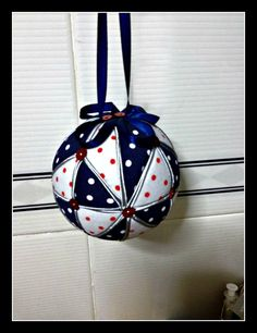 Christmas ball. Tutorial.