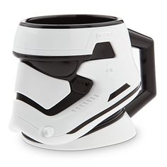 15 Disney coffee mugs that will make a statement at work. Shown here, Star Wars Storm Trooper.