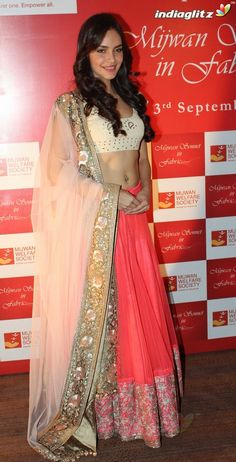 Shazahn Padamsee at Mijwan Sonnets in Fabric Fashion Show, Sept, 2012 by Manish Malhotra to raise funds for brilliant Mijwan Welfare Society run by Actor & Activist Shabana Azmi https://twitter.com/AzmiShabana founded by her late father Poet Activist Kaifi Azmi http://www.ketto.org/fundraiser_home.php?id=Fund134