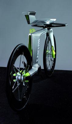 El concepto de bicicleta Canyon Eco Speed pretende ser una e-bike para el futuro en donde presenta una interesante fuente de alimentación eléctrica y toda una serie de formas muy características.