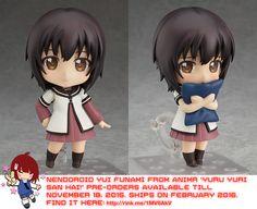Nendoroid Yui Funami from Yuru Yuri San Hai!   #rinkya #japan #nendoroid #anime #kawaii