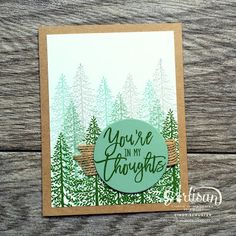 nutmeg creations: Stampin' UP Artisan Blog Hop - More Thoughtful Branches