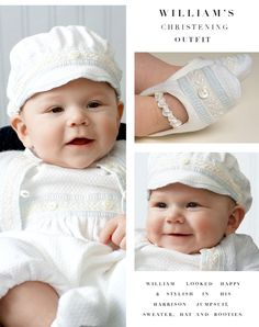 William's Christening in the Harrison Christening Collection