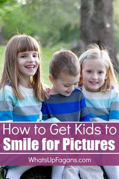 """If you want great tips on how to get children to smile for the camera that go beyond """"Say Cheese"""" this is a great list! #Smilehood {ad}"""