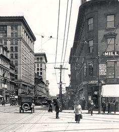 1916: Harrington Corner, Worcester, Massachusetts.