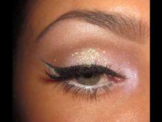 White Fantasy: Glitter Makeup