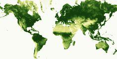 A Breathing Earth by Nadieh Bremer