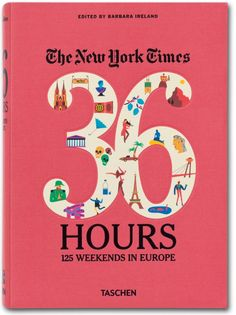 36 Hours in Europe from the NYT. 125 well-crafted itineraries for short and sweet European trips or to inspire you to study abroad in Europe!