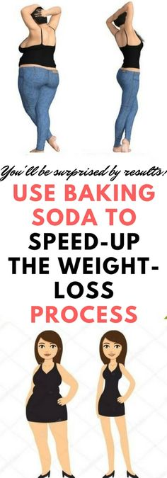 Weight loss is never an easy process – it takes a lot of time and dedication, and it's very hard not to indulge in your favorite foods. However, today we're going to show you a simple remedy based on baking soda which will boost your metabolism and help you lose weight faster than ever! #bakingsoda #diet #weightloss