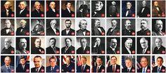 tüm amerikan başkanları