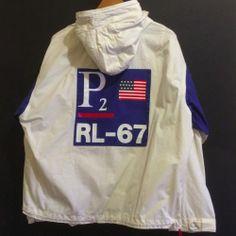 Vintage Polo Ralph Lauren P2 CPRL 93 Yacht RL 67 Jacket Medium 1993 | eBay