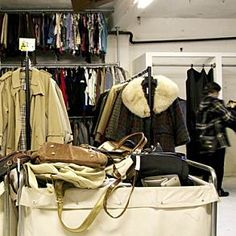Best charity shops in London - Always go to charity shops in expensive neighborhoods, the donations are so much better!
