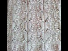 ideas knitting stitches leaf scarf patterns for 2019 Knit Vest Pattern, Lace Knitting Patterns, Knitting Videos, Knitting Stitches, Knitting Designs, Knitting Projects, Baby Knitting, Stitch Patterns, Scarf Patterns