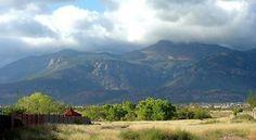 Huachuca Mountains, Sierra Vista, Arizona.