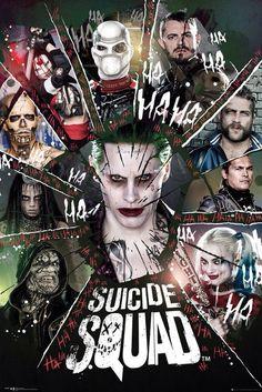 Suicide Squad en poster