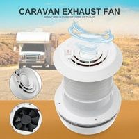 Warmtoo 1pcs 12v Rv Energy Saving Motorhome Roof Vent Ventilation Cooling Exhaust Fan Noiseless For Homes Trailer Trave Ventilation Fan Roof Vents Trailer Home