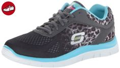 Elite Flex, Baskets Homme, Noir (Black/Grey), 41.5 EUSkechers