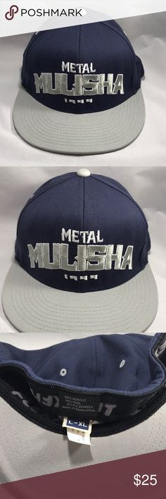 d5159e53774 METAL MULISHA Flat Brim Flex Fit Cap Size L-XL. METAL MULISHA Flat Brim