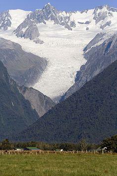 Fox Glacier, South Island, New Zealand Copyright: Simon Bolch