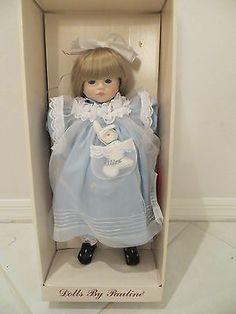 Alice In Wonderland Porcelain Ltd. Edition Doll by Pauline