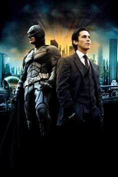 The Dark Knight, Bruce Wayne for my dad