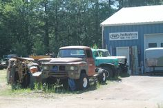 "This past Sunday, Hal Denham and I were out finalizing the route for the 2013 Mass Challenge car rally.  As we drove by one location, I said to Hal: ""Look at the Power Wagon!  I haven't…"