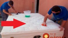 How to Clean Bed Box Encardida-Homemade Recipe to Clean Diy Cleaning Products, Cleaning Hacks, How To Clean Bed, Cama Box, Tips & Tricks, Home Hacks, Home Organization, Clean House, Housekeeping