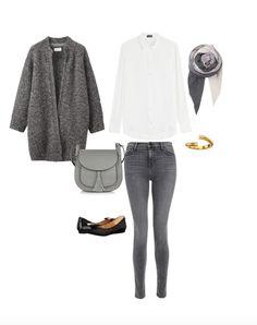 Womit lässt sich ein grauer Mantel kombinieren? | Fashion
