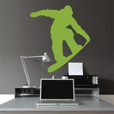 www.stickurz.com, Snowboard, Sport, Freestyle, Kids, Teenager, Sticker, Wall Decal, Decoration, Design, wall tattoo