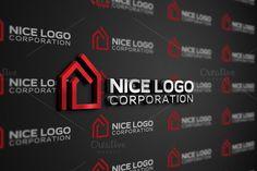 house logo by Indigo - Graphic Shop on Creative Market