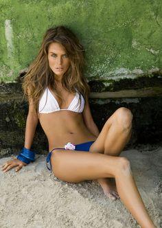 Marilia Moreno Sitting In Sand