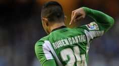 Castro Rubén (Real Betis) - Deportivo vs Real Betis 2-3 - La Liga 2012/2013
