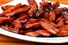 Easy Roasted Carrots with Agave-Balsamic Glaze are a healthy side dish and this would be lovely for a holiday dinner. And if you're cooking...