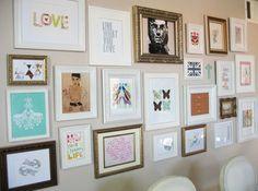 Como Montar uma Gallery Wall