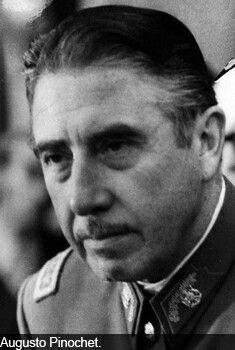 El General Pinochet.