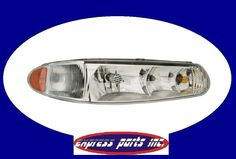 BUICK 97-05 CENTURY/ REGAL  W/ CORNER LAMP RIGHT SIDE  (PASSENGER SIDE) #AftermarketProducts