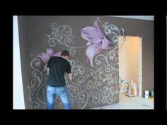 Dipinti Murali E Pittura Ad Ago : Fantastiche immagini in trompe l oeil su nel