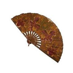 Handmade Batik Decorative Fan from Indonesia || Fair Trade Handicrafts from Ten Thousand Villages