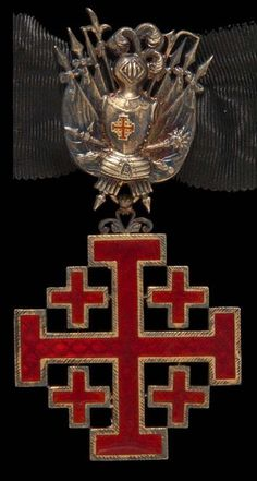 Equestrian Order of the Holy Sepulchre of Jerusalem.