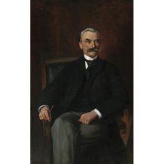 Julian Fałat, Dr. Stanislaus Ritter von Madeyski, 1897, Öl auf Leinwand, 134 x 84 cm, Belvedere, Wien, Inv.-Nr. 267